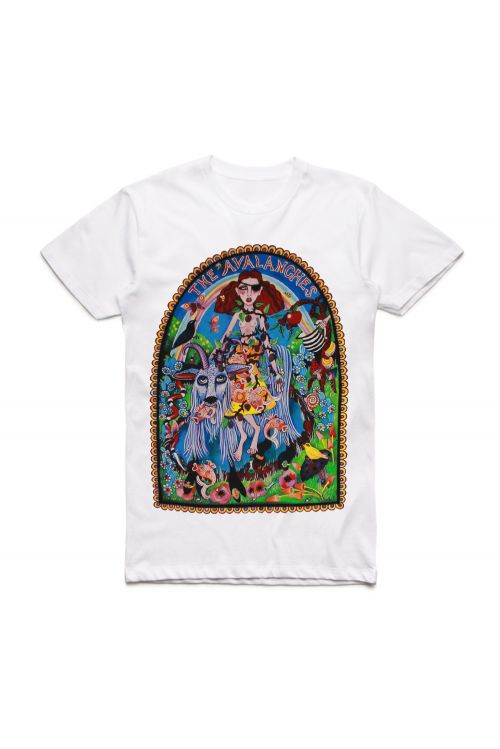 Unskilled Worker White Tshirt by The Avalanches